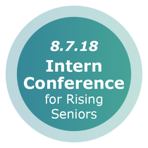 intern conference for rising seniors button